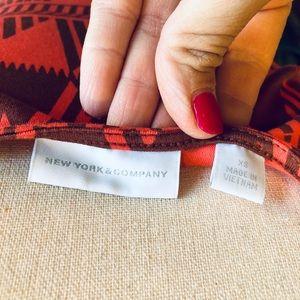 New York & Company Dresses - NewYork & Company Aztec Print Fit & Flare Dress💋